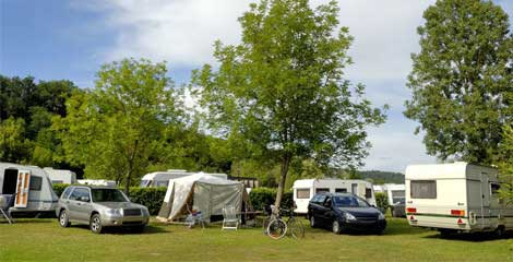 Aire pour camping cars