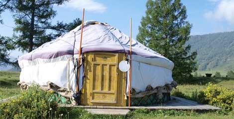 Camping en Yourte Mongole