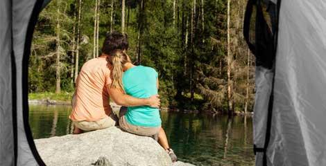 Camping insolite en amoureux