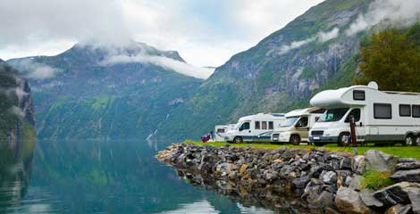 Vacances en camping cars